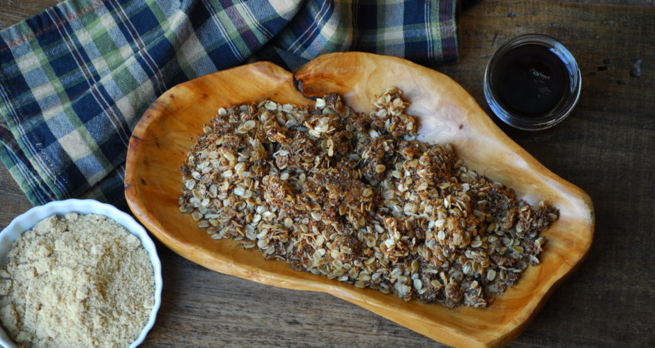 Gluten Free Maple Granola
