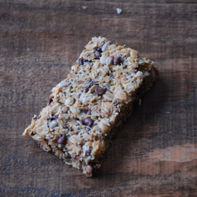 Oatmeal Chocolate Chip Trail Bars