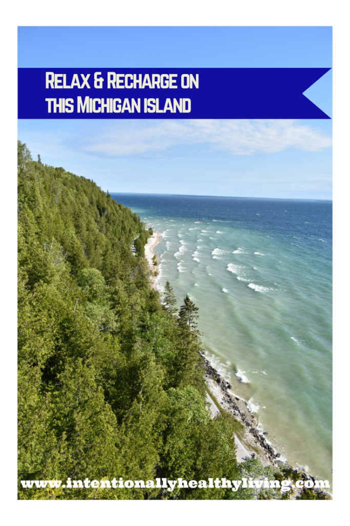 Visit this Michigan island to relax and recharge. www.intentionallyhealthyliving.com