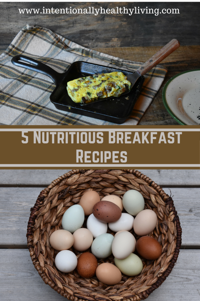 5 Nutritious Breakfast Recipes