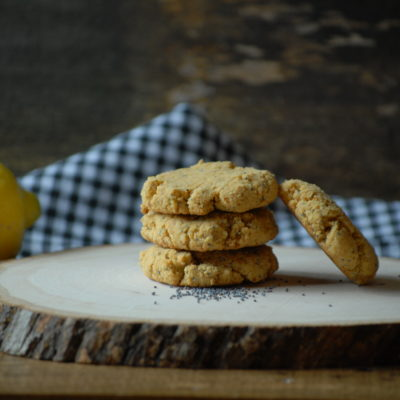Grain Free Lemon Poppy Seed Cookies