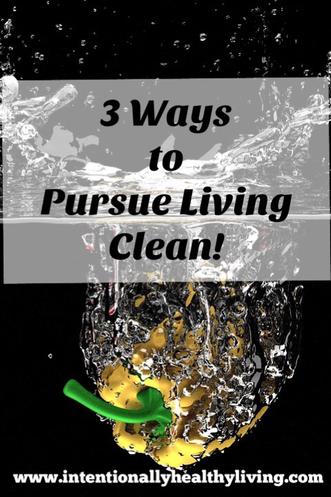 Quest for Clean Living by www.intentionallyhealthyliving.com