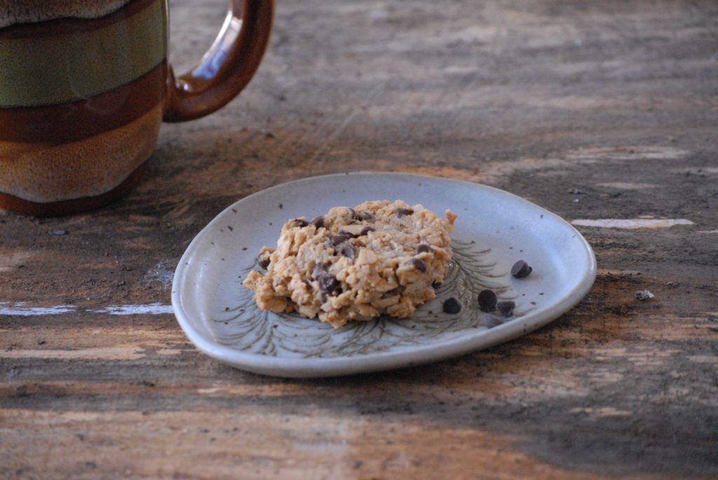 Flourless Oatmeal peanut butter cookies