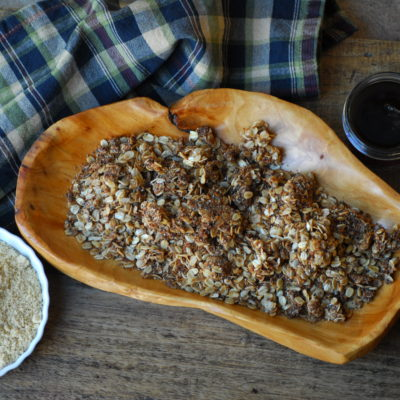Gluten Free Maple Granola