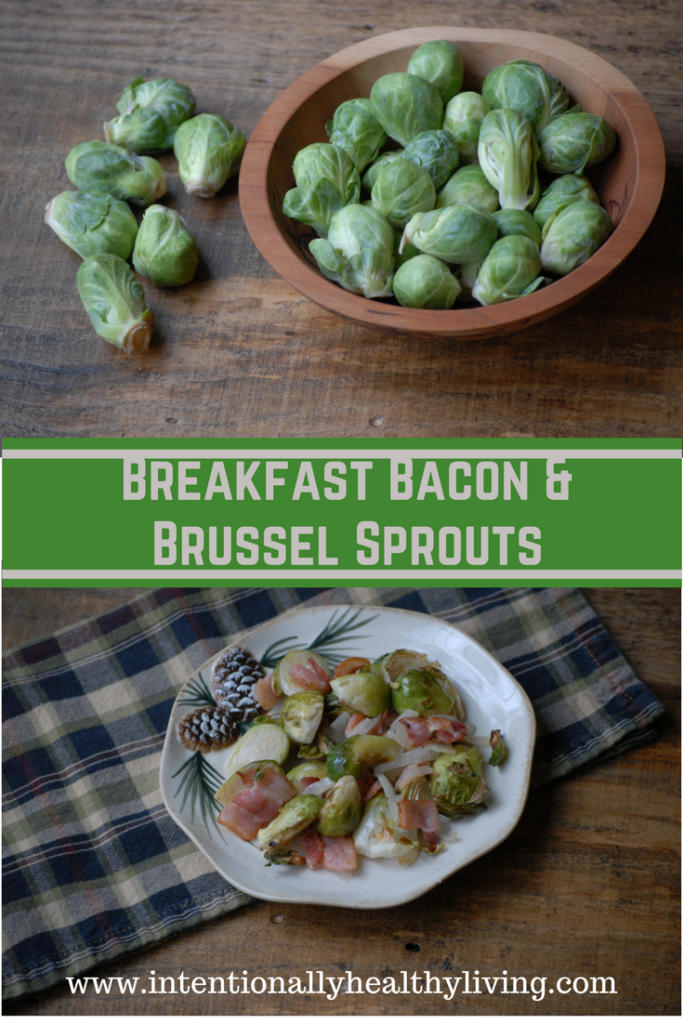 Breakfast Bacon and Brussel Sprouts