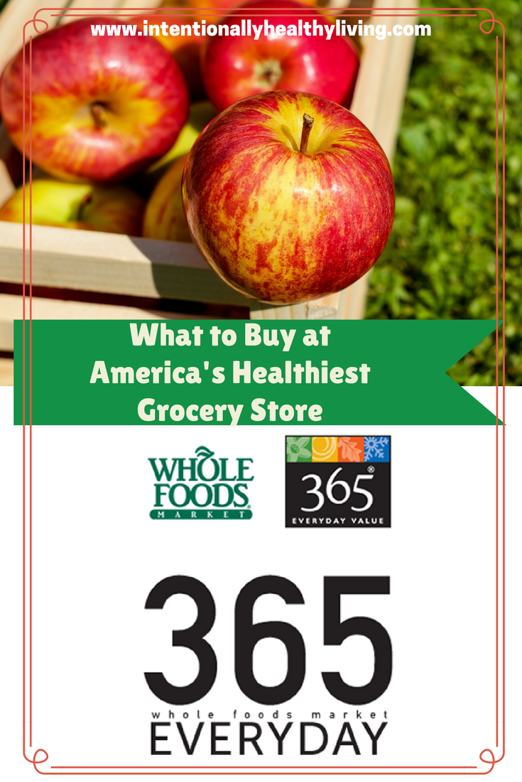 When shopping at Whole Foods Market, 6 items to buy & 6 items to pass by.