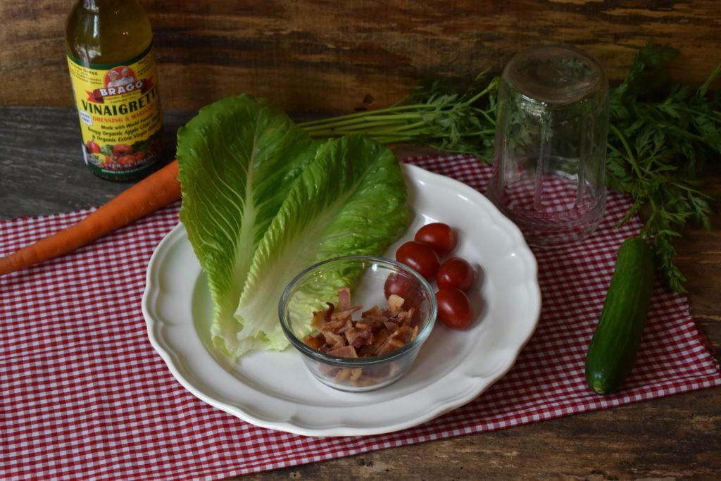 Paleo Jar Salad BLT