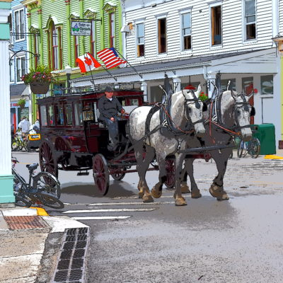 Michigan's Mackinac Island is the place to visit to relax and recharge.