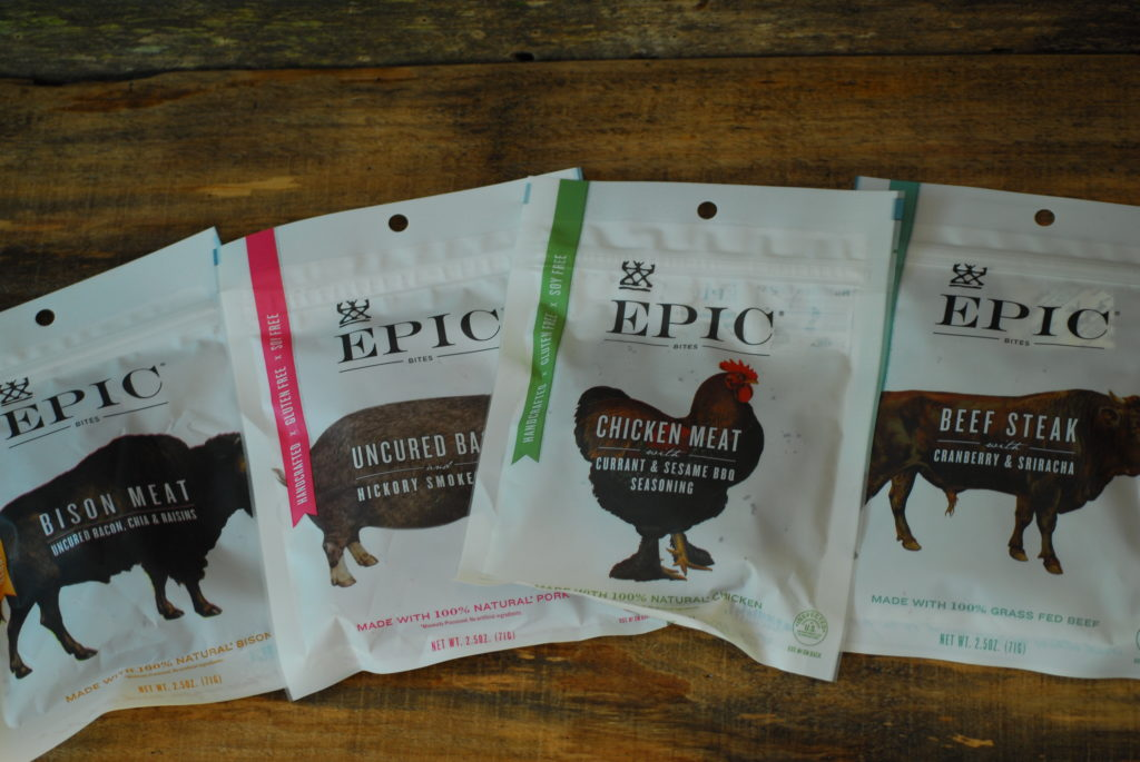 Epic brand jerky makes a Nutritious snack for Travel.