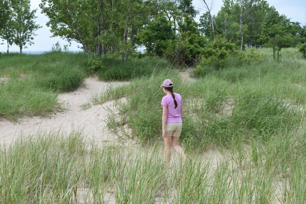 Healthy outdoor activities walking