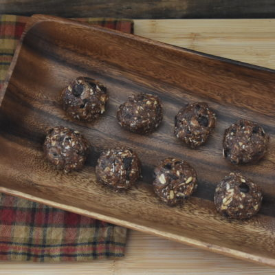 Peanut Butter Cacao Energy Balls