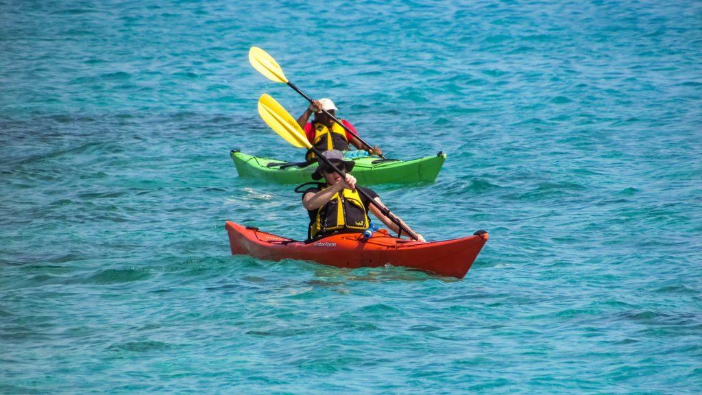 Healthy outdoor summer activities