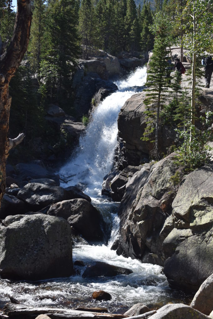 Rocky Mountain National Park Adventure Waterfalls