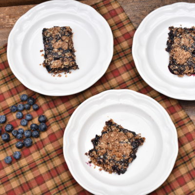 Gluten Free Blueberry Bars