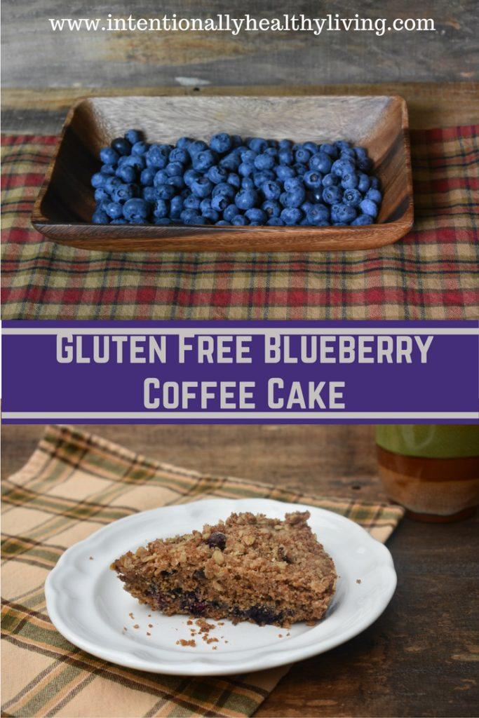 Gluten Free Blueberry Coffee Cake recipe