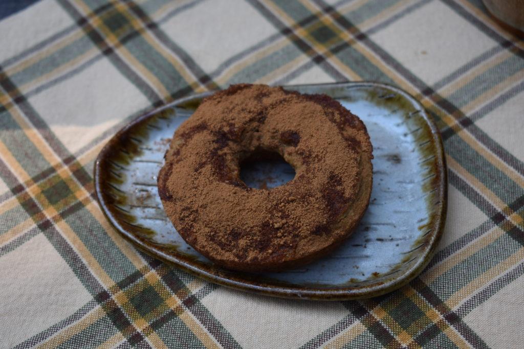 Cinnamon grain Free Pumpkin doughnuts