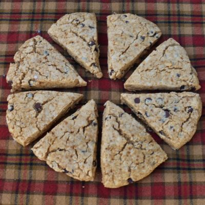 Grain Free Chocolate Chip Scones