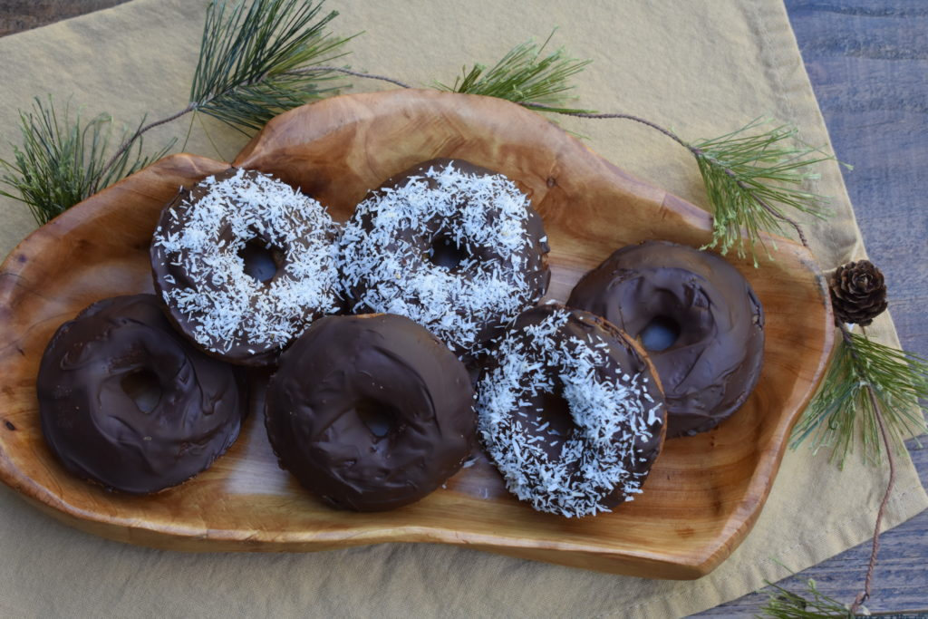 Grain Free Cake Doughnuts - Intentionally Healthy Living