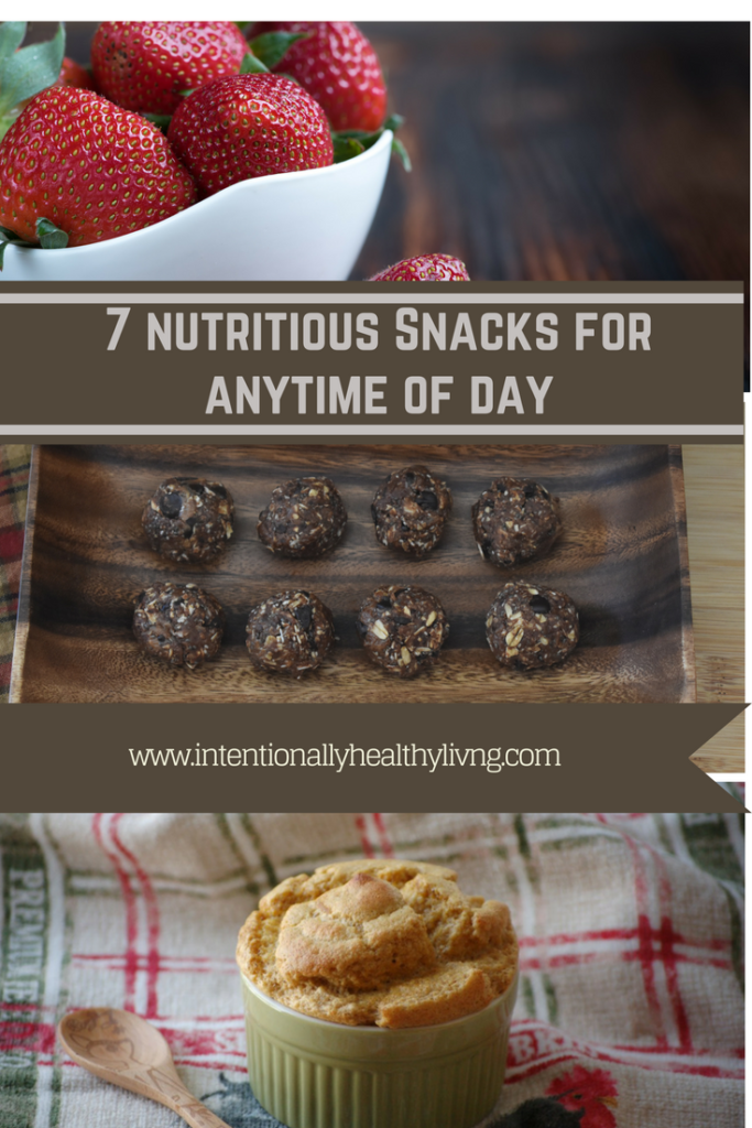 7 Nutritious Gluten Free Snack Ideas by www.intentionallyhealthyliving.com