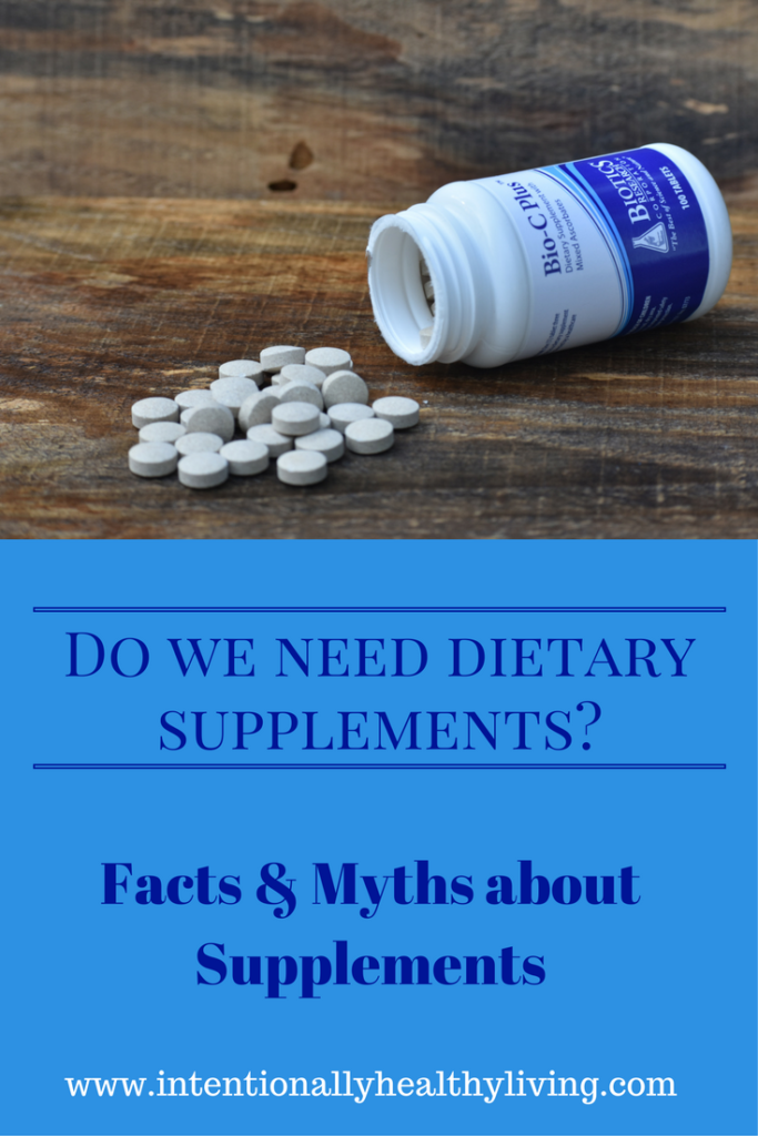 Are Dietary Supplements Necessary? www.intentionallyhealthyliving.com