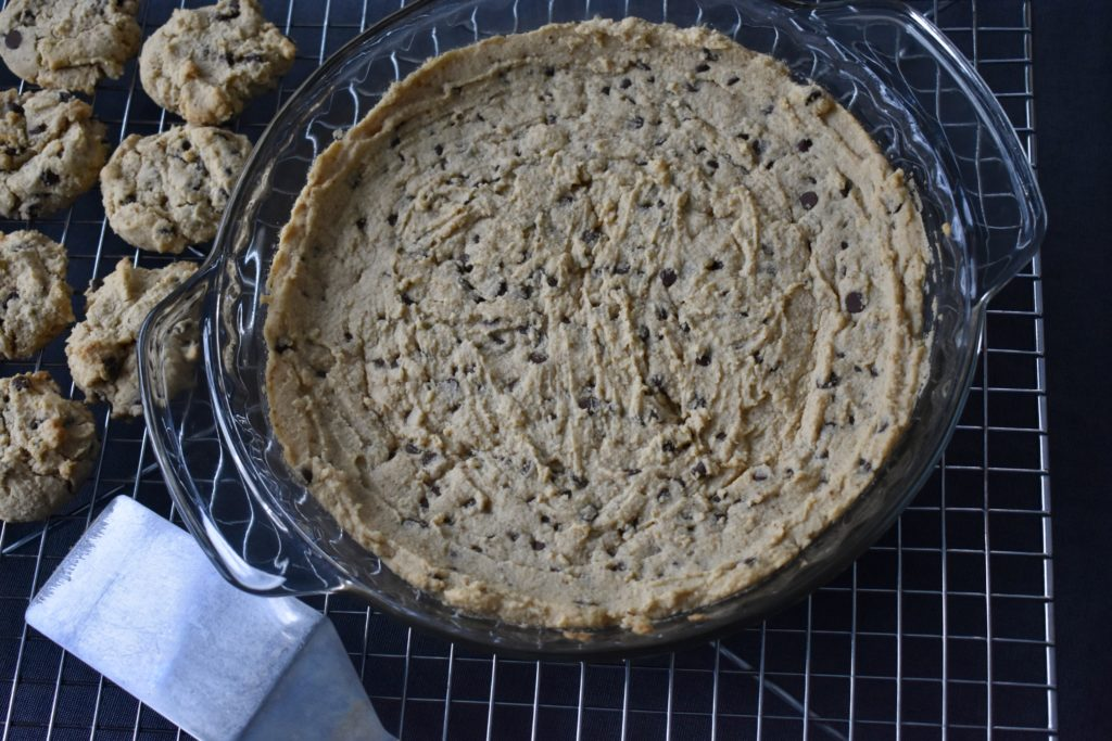 Chocolate Chip Cookie Cream Cheese Pie Dairy Free Intentionally Healthy Living