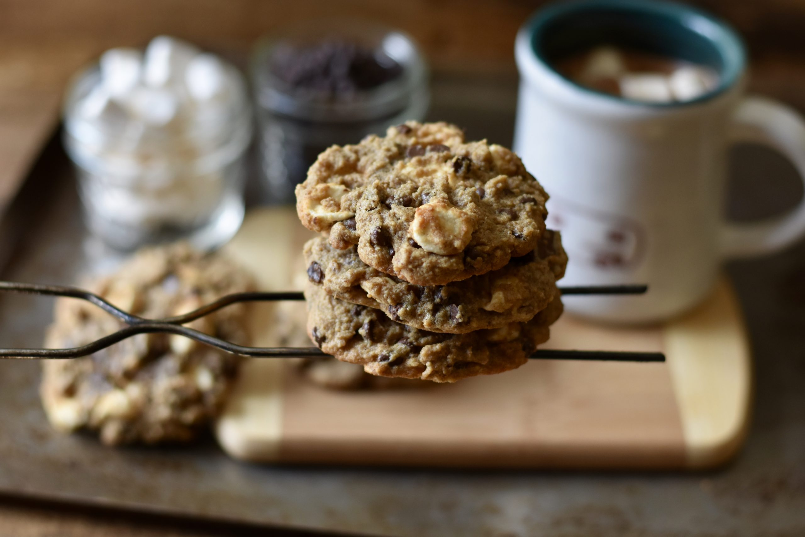 Gluten Free S'more Cookies - Intentionally Healthy Living